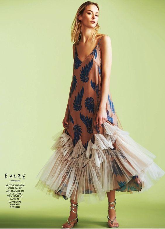 """Not Just a Dress"" Grazia Italia March 2016"