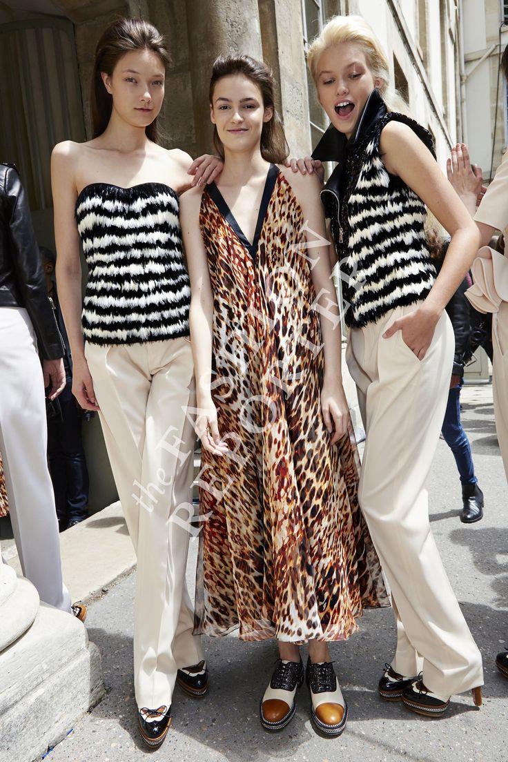 Bouchra Jarrar Backstage | Haute Couture FW14-15 | Ph. Antonello Trio