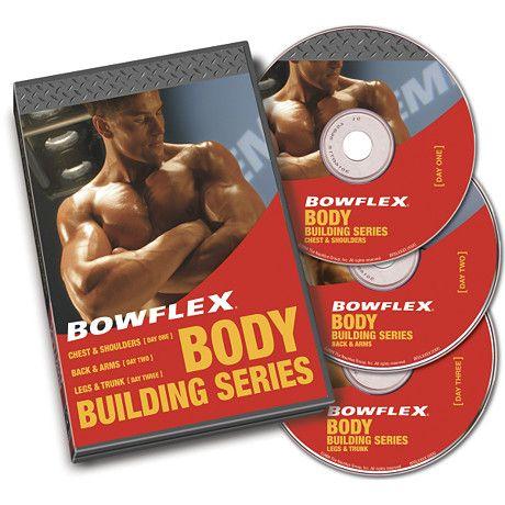 Bowflex® Bodybuilding Workout Video Set