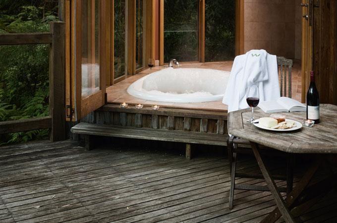 Victoria - Romantic Accommodations - Woodlands Rainforest Retreat