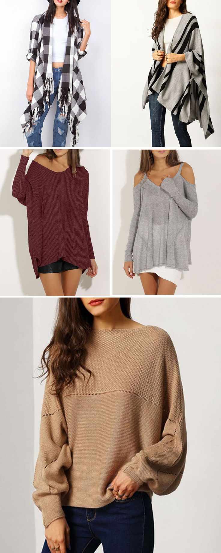 SheIn Stylist: love sweaters. Sweater !!!! Could be your new staple for late fall/winter/Spring