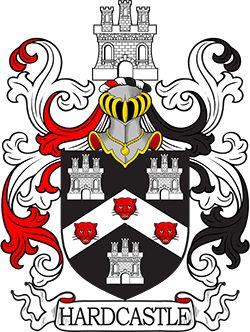 Hardcastle family crest