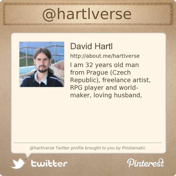 @hartlverse's Twitter profile courtesy of @Pinstamatic (http://pinstamatic.com)