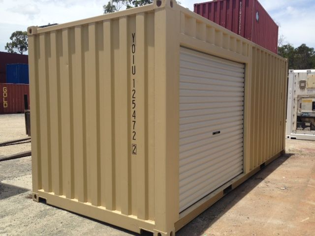 Shipping Container Modifications  Adding extra doors and shelving, turn standard shipping containers into versatile workplace solutions.