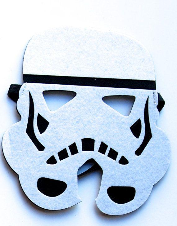 STAR WARS felt Darth Vader mask/ Yoda Mask/ by MelissasStitches
