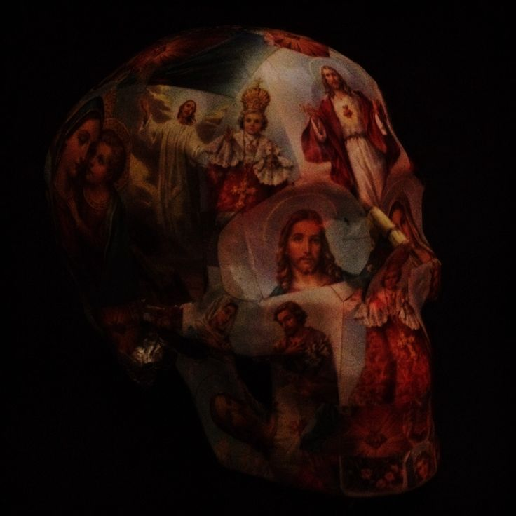 """Title - """" HOLY SHIT"""" by SLOLLTOR. Skull sculpture of Vanitas, Momentori & Contemporary Skull Expressions"""