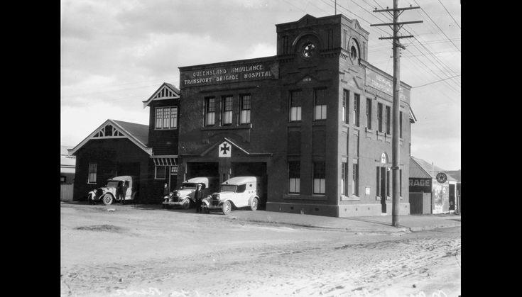 Queensland Ambulance Transport Brigade Hospital in Ipswich (ca. 1931)