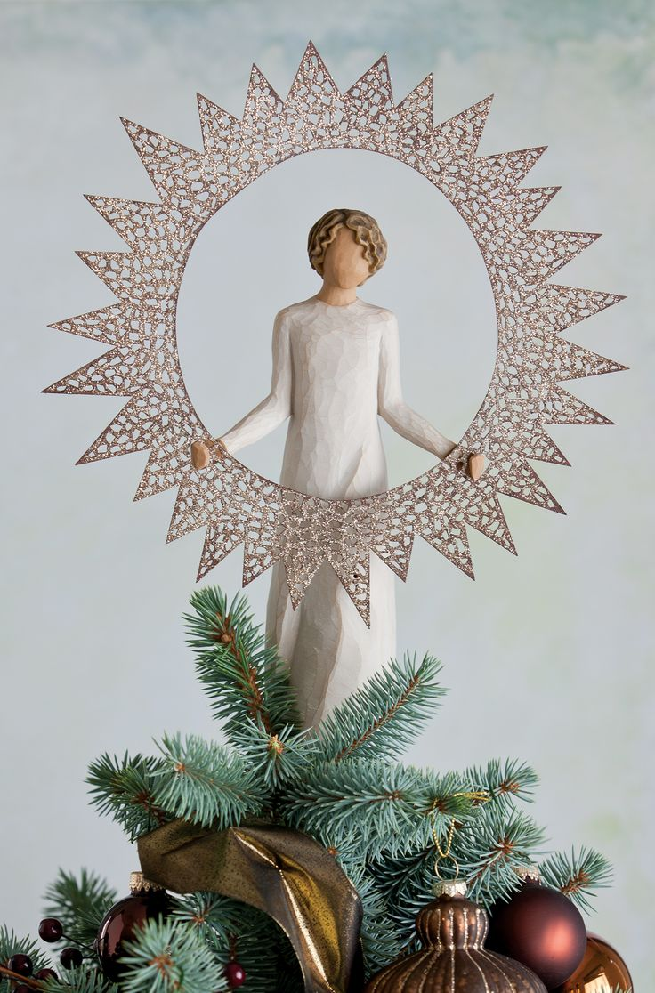 starlight tree topper christmas charm willow tree. Black Bedroom Furniture Sets. Home Design Ideas