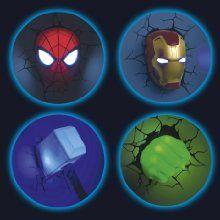Lansay - 10151 - Ameublement Et Décoration - Avengers - Masque D'Iron Man 3D Lumineux Mural: Amazon.fr: Jeux et Jouets