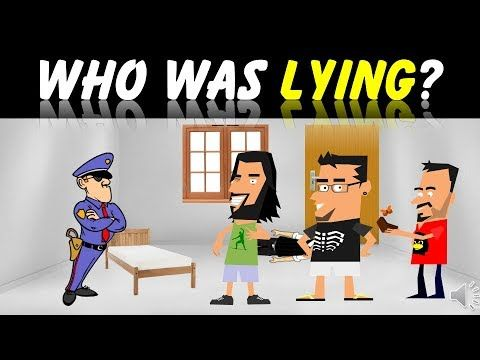 4 RIDDLES Popular On Murder Mystery Crime | Who Did It ?| Sherlock Riddl...