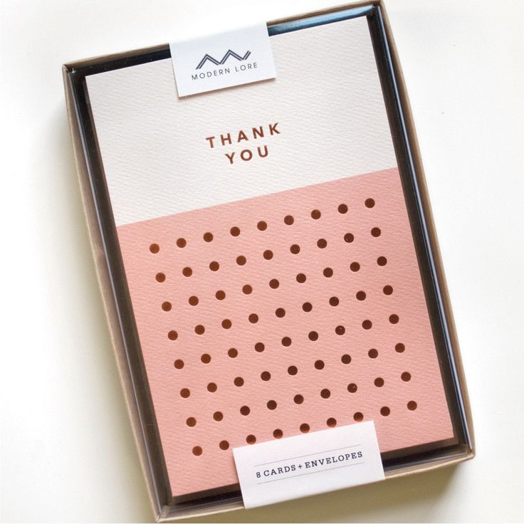 Thank You Dots - Boxed Set of 8