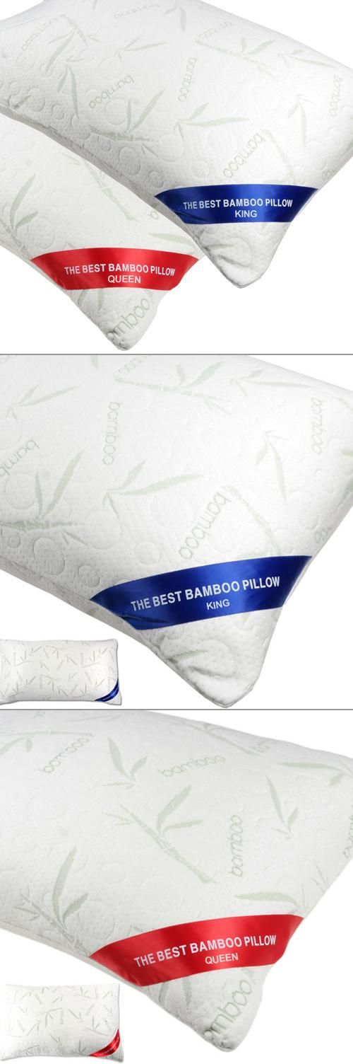 Bamboo pillows will make for the best night's sleep, every night.