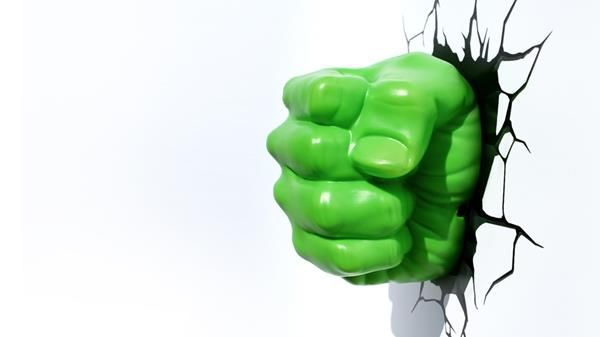 Cool Hulk Fist 3D Deco Light
