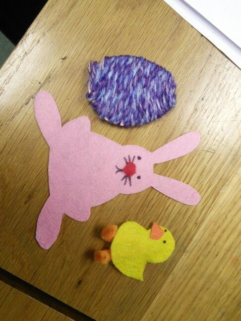 Easter felt cut outs!