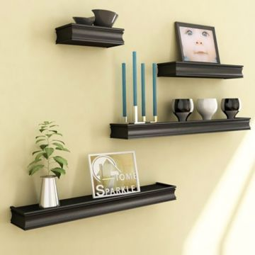 12 best shelves and racks images on Pinterest | Timber walls, Wall ...