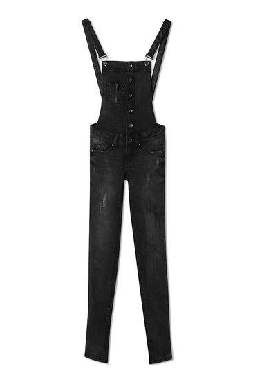 #black #denim #overalls #TALLYWEiJL