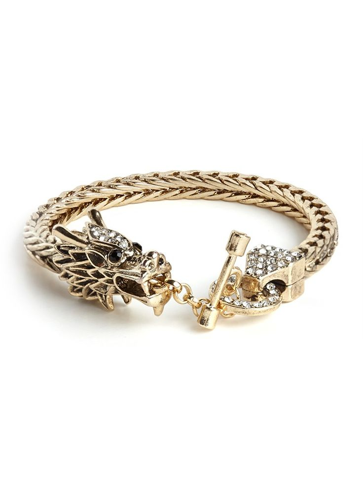 Dragon cuff from Bauble Bar