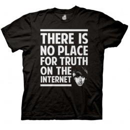 There is no place for truth on the internet Big Bang Theory Howard T-shirt