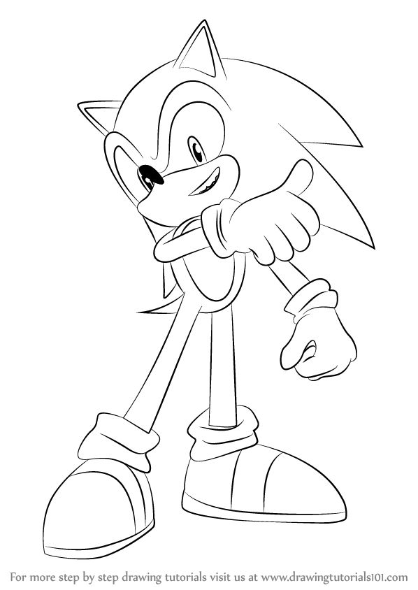25 best ideas about how to draw sonic on pinterest the