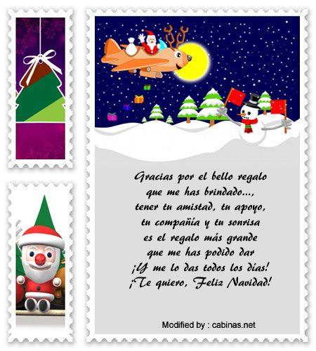 originales saludos de Navidad  para compartir,descargar tarjetas bonitas con frases para Navidad gratis : http://www.cabinas.net/mensajes_de_texto/mensajes_de_navidad.asp
