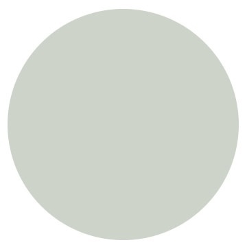 "Sea Salt CSP-95/ Benjamin Moore  ""This pale gray-blue is soft and soothing. It's kind of like sea glass where it can look blue or green -- and it works with both. And it's great with neutrals or cream. I've used it in a beach house, a traditional home, a sorority house -- so it has a lot of flexibility.""  -- Janie Hirsch, Atlanta designer"