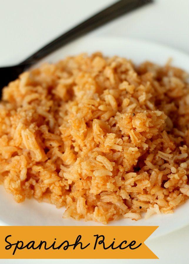 Restaurant Style Spanish Rice