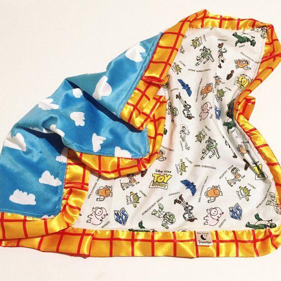 Jessie Bullseye Buzz Minky Baby Blanket Toy Story 4 Woody Personalized Disney PIXAR