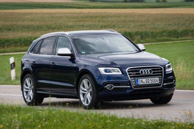 Audi SQ5 TDI & Q5 hybrid Test Drive