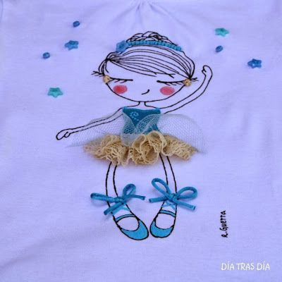 50 best embroidery and canvas images on pinterest - Pinturas para pintar camisetas ...