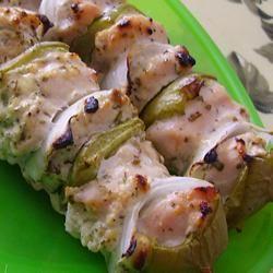 Marinated Greek Chicken Kabobs Allrecipes.com