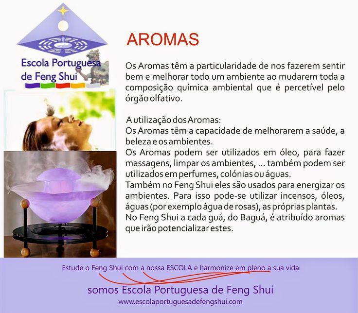 Escola Portuguesa de Feng Shui: AROMAS