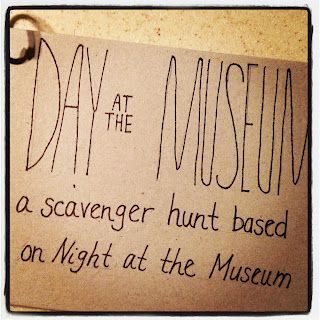 Museum Of Natural History Scavenger Hunt Questions