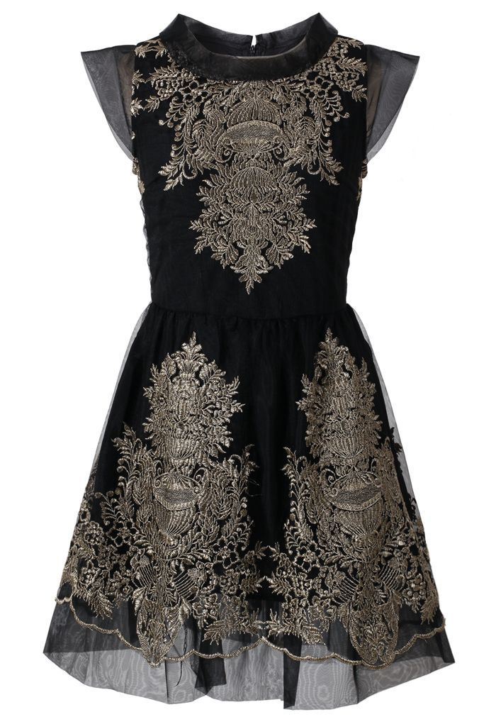 goth baroque perfect dress