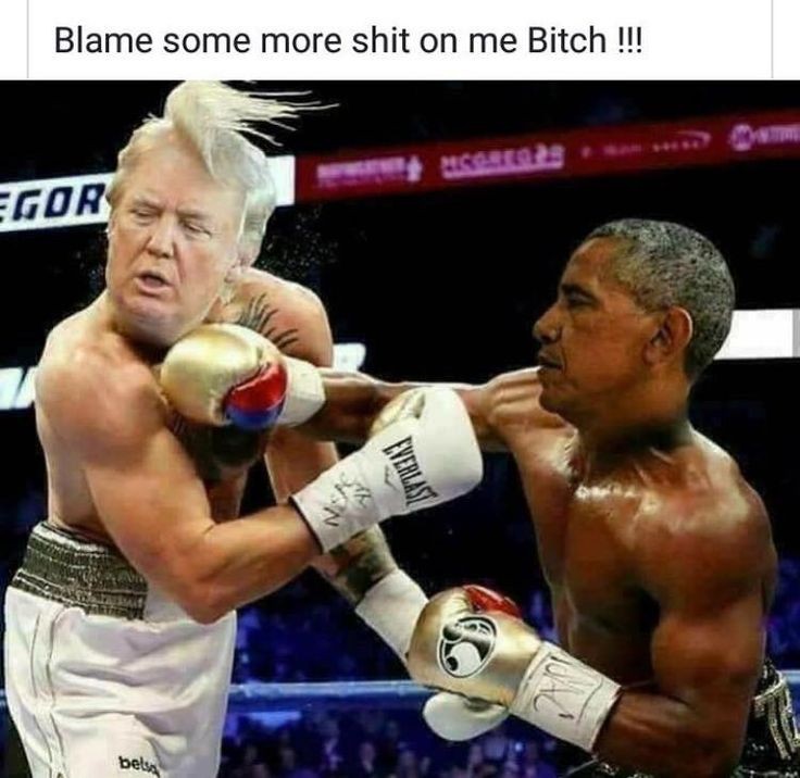 Obama's in top shape and trumps a fat fuck . Obama would beat the shit out of him & I'd pay money to see that