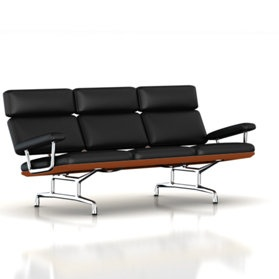 Eames Sofa  Designers: Charles and Ray Eames: Modern Furniture, Sofas Design, Miller Eames, Eames Sofas, Official Stores, Eames Sofaoff, Ray Eames, Herman Miller, Miller Official