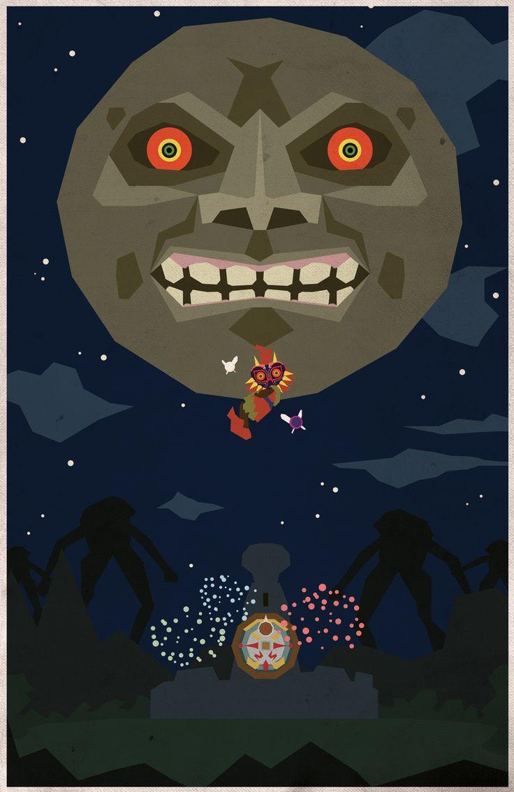 Majoras Mask Moon Giants 535 best images...