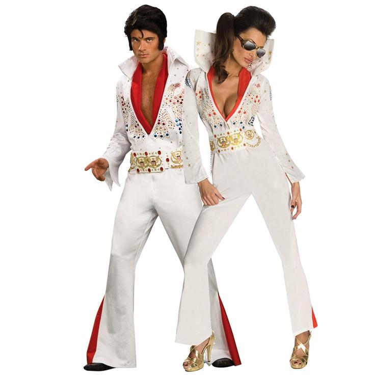 Sexy Elvis & Elvis Couples Costume