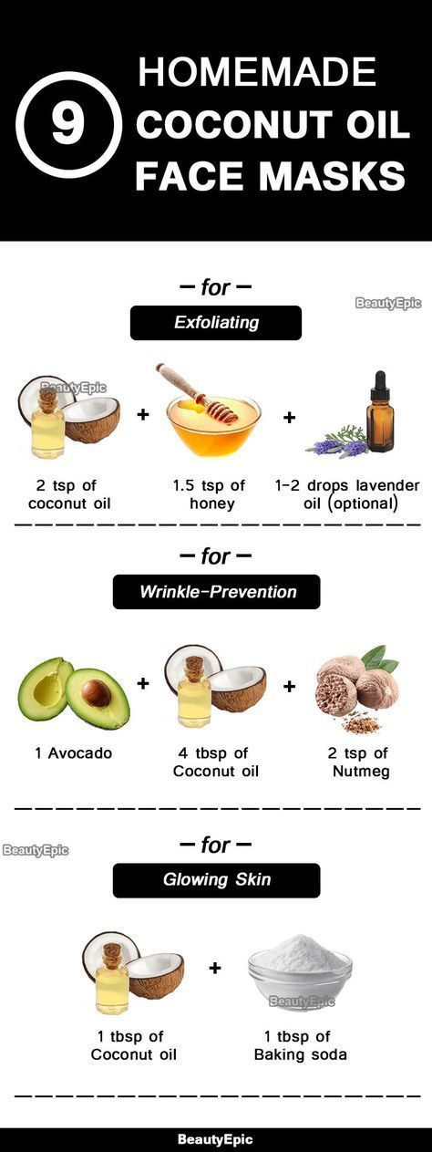 Benefits of Coconut oil Face Mask: How to Make? – …