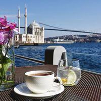 Feriye Palace  0212 9002633 dahili:776 Rezervasyon önerilir Mutfak türü Dünya Mutfağı Hesap  Ortalama ₺300 iki kişi için (ortalama) Alkollü Nakit ve kredi kartı kabul edilir. Çalışma saatleri Bugün  09:00 - 01:00 Adres Ortaköy Mahallesi, Çırağan Caddesi, No 44, Beşiktaş, İstanbul