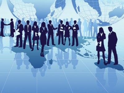 Abstract Business People PPT Backgrounds