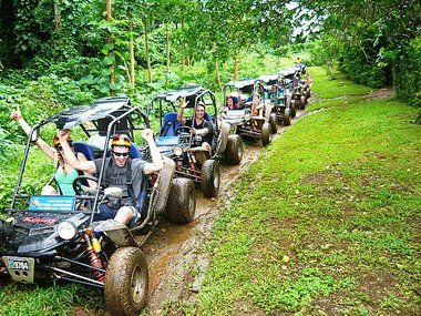 Off Road Adventures Vanuatu - a wonderful way to see parts of the island that you wouldn't otherwise see...oh, bring your old clothes for this one!   #Vanuatu #Buggy #HolidayInnResort www.vanuatu.holidayinnresorts.com/activities/vanuatu-activities/