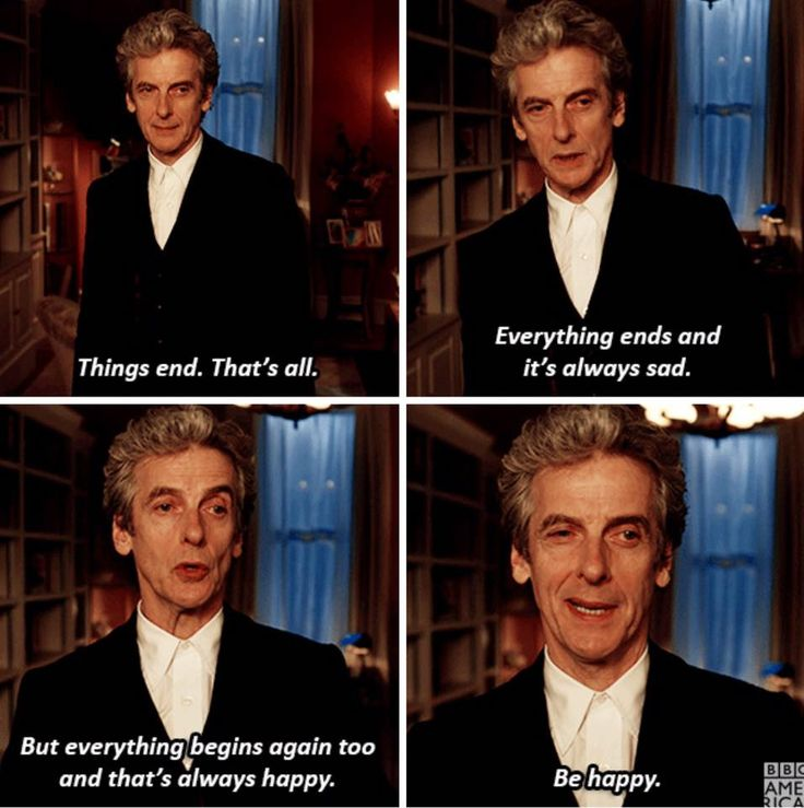 Things like this make me cry when watching Doctor Who....along with everything else.