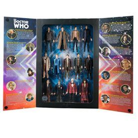 """Doctor Who SDCC 2016 Exclusive – The 13 Doctors Collector Figure Set – When on display your friends will see this limited edition SDCC 2016 collector's set and ask if it includes all 12 Doctors, and you'll say, """"No sir…all thirteen!"""" Each figure measures 5.5 inches and features new or alternate costumes such as the […]"""
