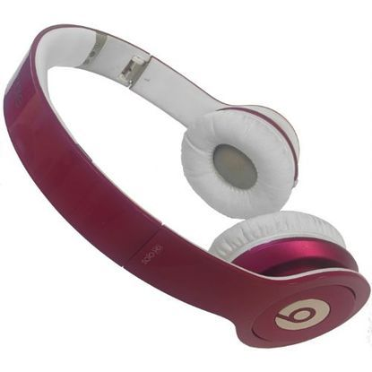 Beats Solo HD Glossy Pink Headphones