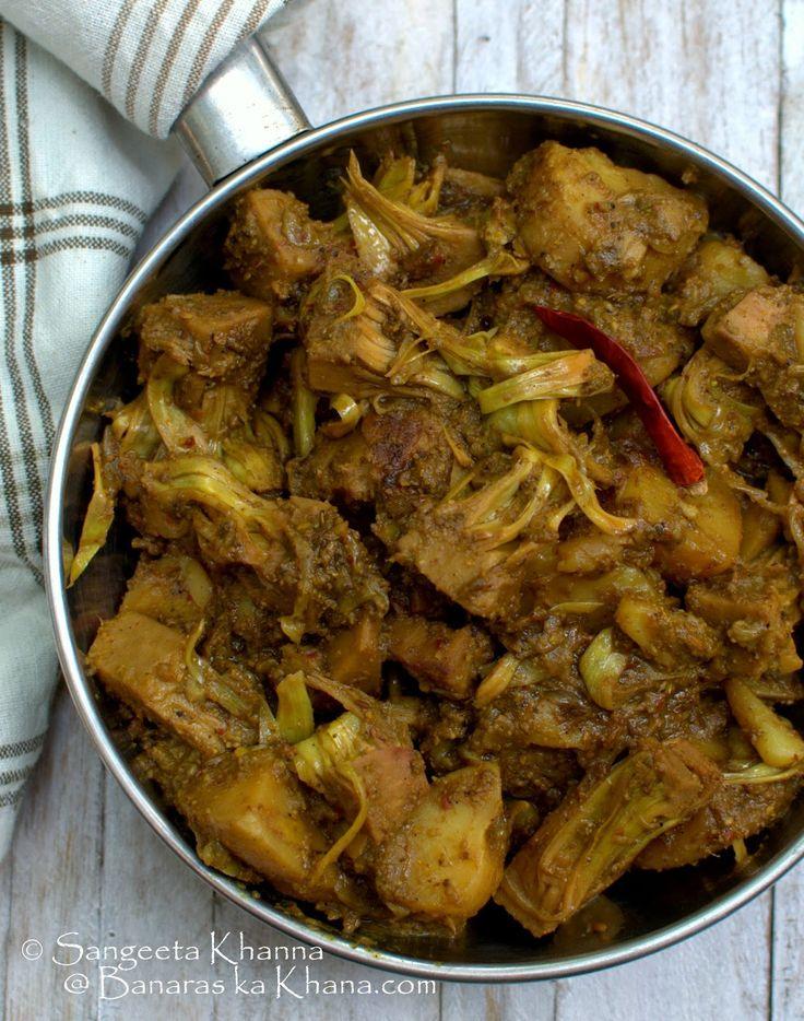banaras ka khana: kathal ki sookhi masaledar subzi made with minimal oil