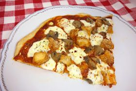 Plain Chicken: Chicken Parmesan Pizza with Homemade Bisquick Pizza Crust