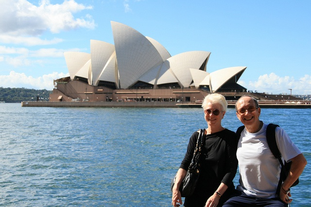 My parents & the Opera House, via Flickr.