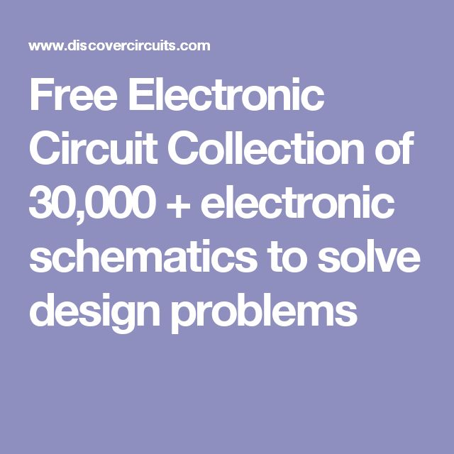 The 411 best Electronic schematics images on Pinterest | Electronic ...