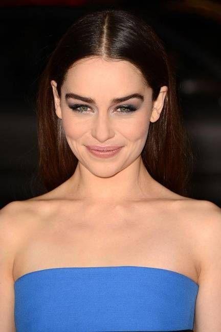 The Best Celebrity Eyebrows - Emilia Clarke
