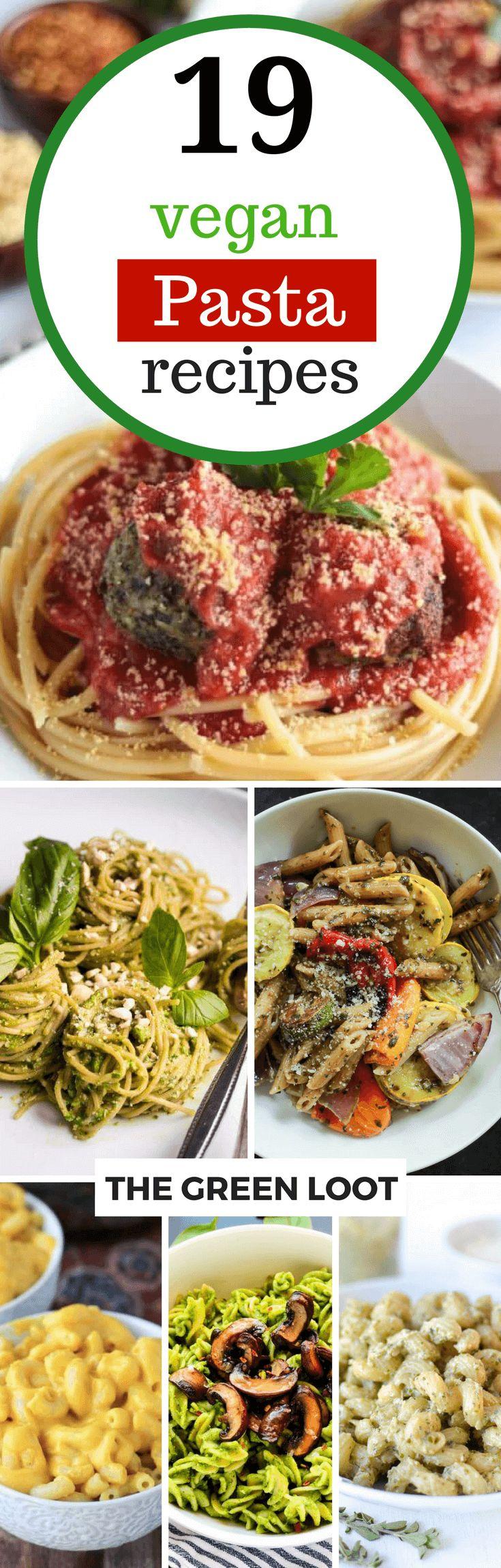 19 hervorragende italienische vegane Pasta-Rezepte für das Mittagessen